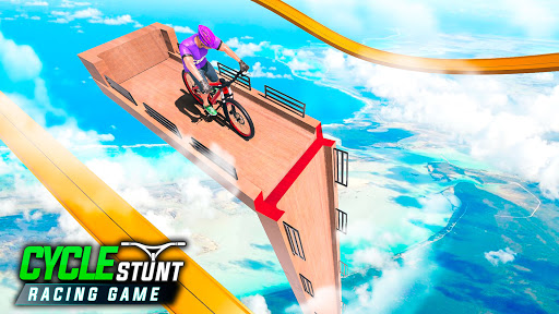 BMX Cycle Stunt: Bicycle Race Apkfinish screenshots 14