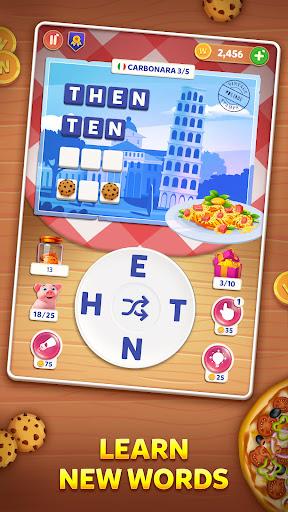 Wordelicious: Food & Travel - Word Puzzle Game apkdebit screenshots 12