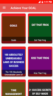 GOALS - Brian Tracy Book for Business Entrepreneur 11.1 screenshots 1