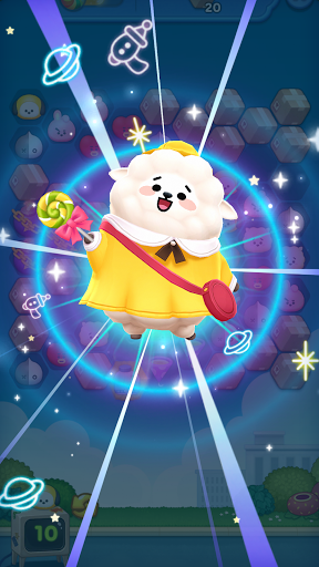 LINE HELLO BT21- Cute bubble-shooting puzzle game! 2.2.2 screenshots 4