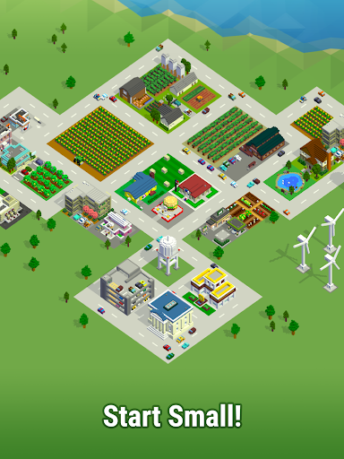 Bit City - Build a pocket sized Tiny Town APK MOD – Pièces Illimitées (Astuce) screenshots hack proof 1