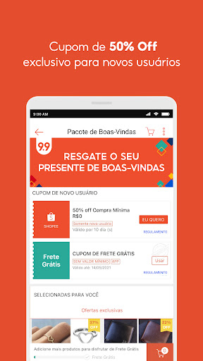 Shopee: Compre Online no 9.9 android2mod screenshots 5