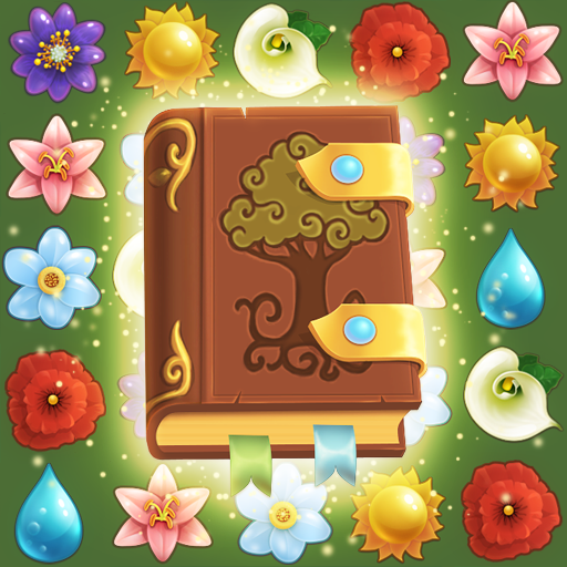 Flower Book: Match-3 Puzzle Game