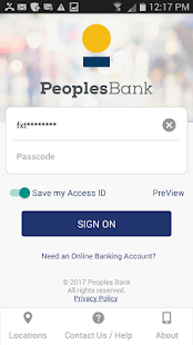 Peoples Bank NC Mobile