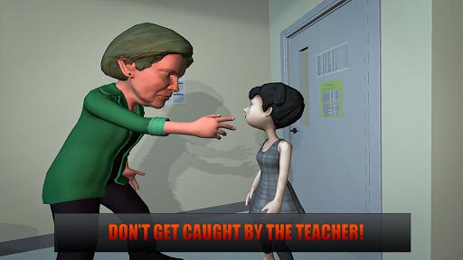 Horror Teacher School Creepy Game screenshots 10