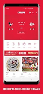 Chiefs Mobile Screenshot