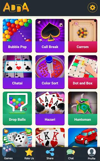 Adda : Rummy , 29 card game , 3 Patti , CallBreak android2mod screenshots 1