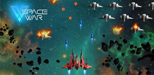 Screenshot of Space wars: spaceship shooting game