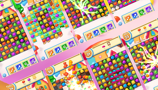 Cookie Macaron Pop : Sweet Match 3 Puzzle 1.5.4 screenshots 6