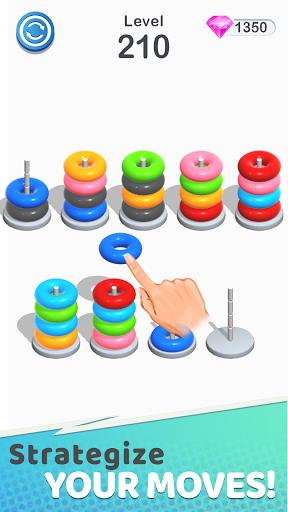 Color Sort Puzzle: Color Hoop Stack Puzzle 1.0.12 screenshots 7