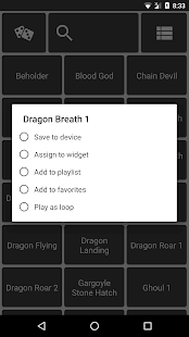 RPGsound (RPG Soundboard) Screenshot