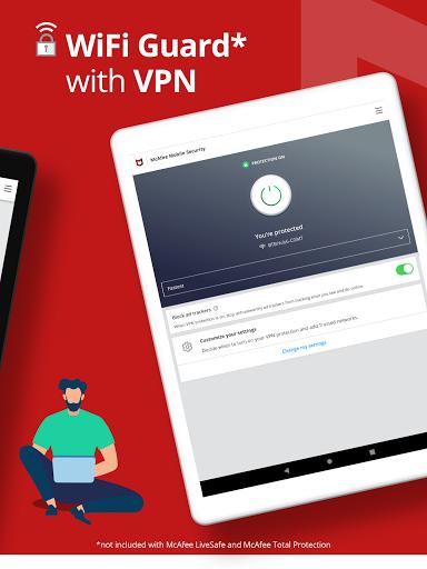 Mobile Security: VPN Proxy & Anti Theft Safe WiFi  Screenshots 11