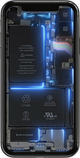 Phone Electricity Live Wallpaper  Screenshots 8