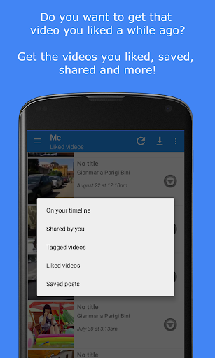 MyVideoDownloader for Facebook: download videos! 3.5.8 Screenshots 3