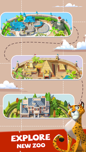 Merge Animal Kingdom - Zoo Tycoon  screenshots 8