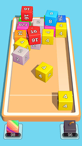 2048 3D: Shoot & Merge Number Cubes, Block Puzzles Screenshots 14