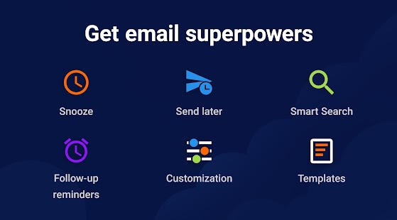 Spark Email – Connect Gmail, Yahoo & Outlook mail Screenshot