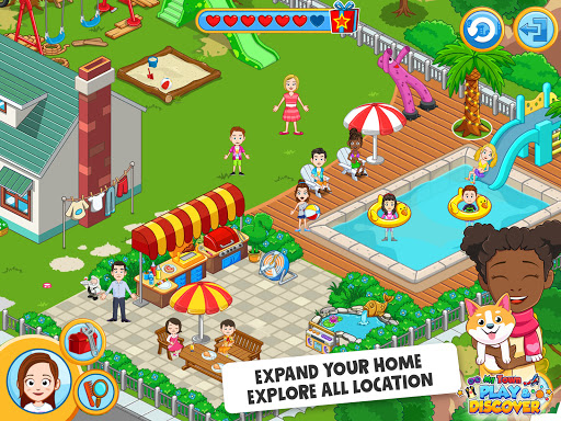 My Town : Play & Discover Pretend Play Kids Game  screenshots 9