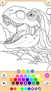 Dino Coloring Game 1