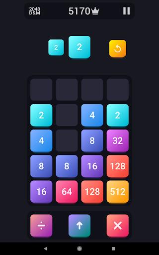 2048: Drop And Merge 1.3 screenshots 7