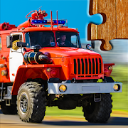 Cars, Trucks, & Trains Jigsaw Puzzles Game