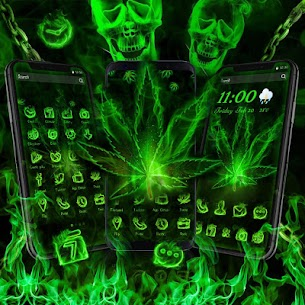 Fire Weed Rasta Themes For Pc (Free Download On Windows7/8/8.1/10 And Mac) 2