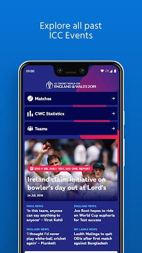 ICC - Live International Cricket Scores & News  screenshots 6