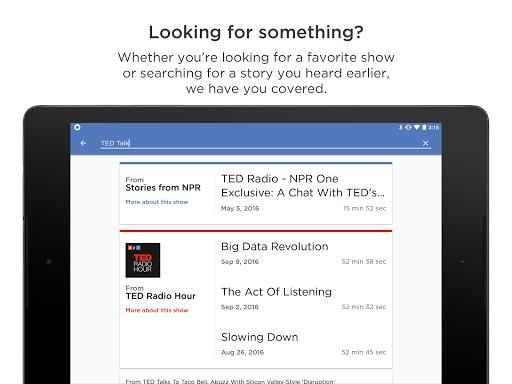 NPR One 1.9.9.2 Screenshots 9