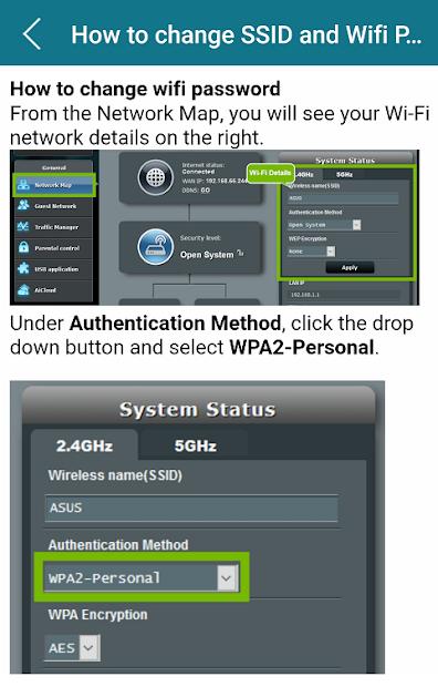 Captura de Pantalla 3 de Asus Modem Router Guide para android