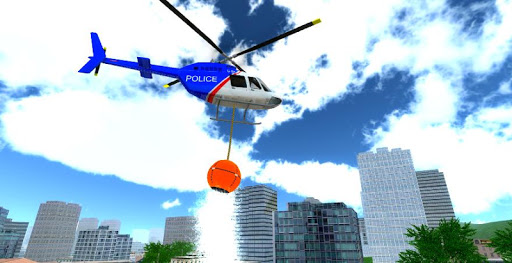 Police Helicopter City Flying 1.2 screenshots 1