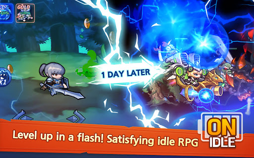 Raid the Dungeon : Idle RPG Heroes AFK or Tap Tap 1.10.2 screenshots 19