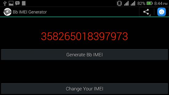 Bb IMEI Generator