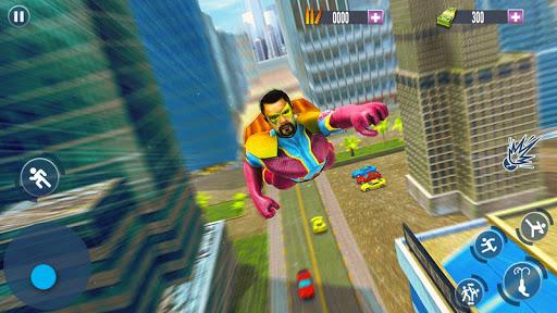 flying hero crime city theft screenshot 1
