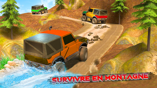 Code Triche Offroad Jeep Driving & Racing cascades apk mod screenshots 2