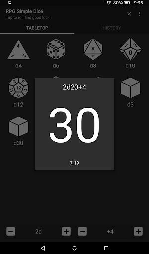 RPG Simple Dice  screenshots 9