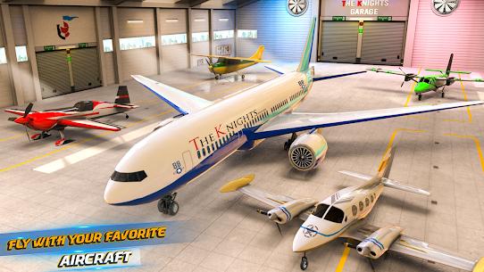 Uçan Uçak Simülatörü Çevrimdışı – Uçak oyunları Full Apk İndir 4