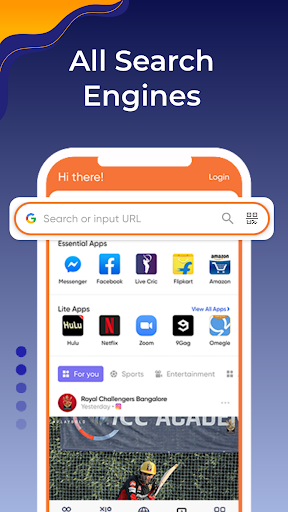 Browser Go - Fast & Secure, Web browser, News android2mod screenshots 1