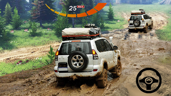 Offroad Cargo Jeep Driving Simulator 4x4 Hill 1.6 screenshots 1