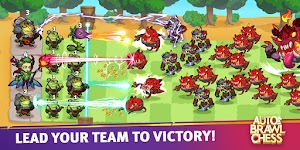 screenshot of Auto Brawl Chess: Battle Royale