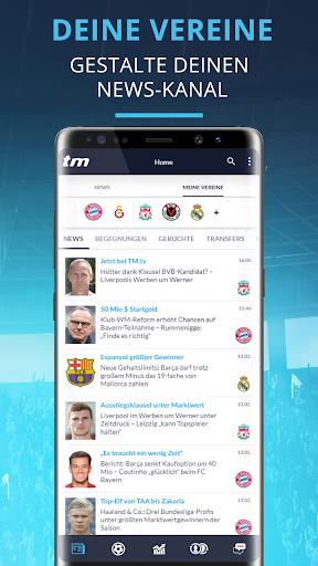 Transfermarkt: Fuu00dfballnews, Bundesliga, Liveticker 2.4.2 Screenshots 6