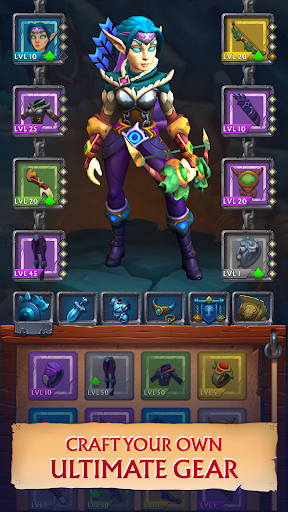 Clicker Idle Heroes RPG - Never Ending Dungeon  screenshots 2