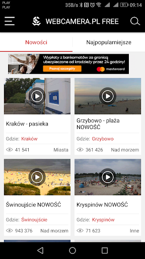 WebCamera.pl - live streaming 2.5.0 Screenshots 1
