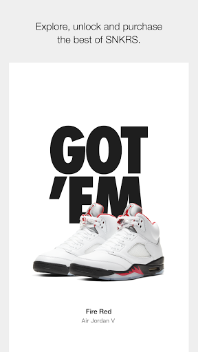Nike SNKRS: Find & Buy The Latest Sneaker Releases  screenshots 1