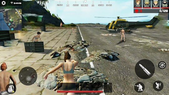 Encounter Strike:Real Commando Secret Mission 2020 Mod 1.2.0 Apk (Unlimited Money/ Grenades/ Medpaks) 1