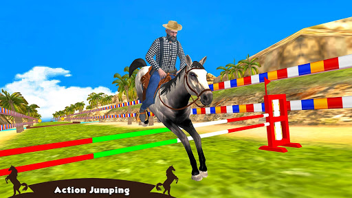 Horse Riding Simulator 3D : Jockey Mobile Game apktram screenshots 2