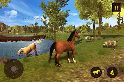Horse Family Jungle Adventure Simulator Game 2020 screenshots 7