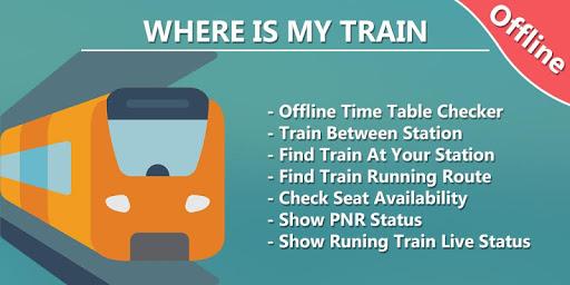 Where is my Train - Train Live Location & Status  Screenshots 1