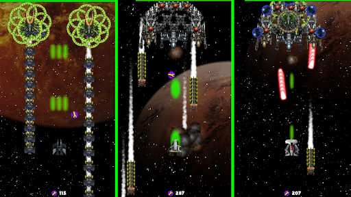 spaceship war game 2 apkdebit screenshots 1