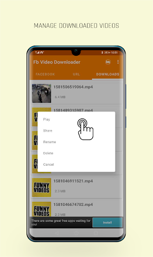 FastVid: Video Downloader for Facebook 4.4.2 Screenshots 5