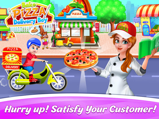Bake Pizza Delivery Boy: Pizza Maker Games 1.7 Screenshots 4